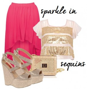 sparkle in sequins