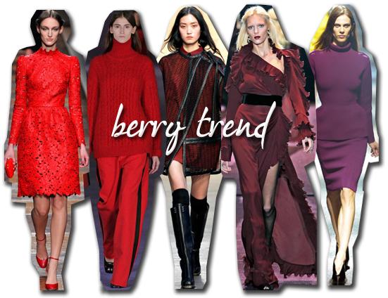 Berry Trend 2012