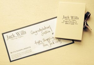 Jack Wills Competition Voucher