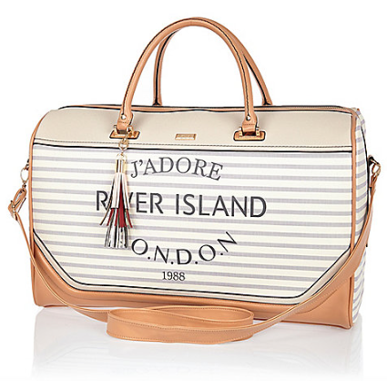 river island paris bag