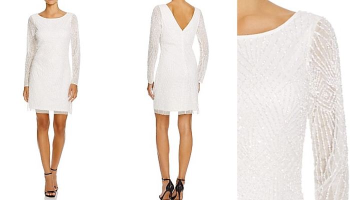 Aidan Mattox Embellished Dress