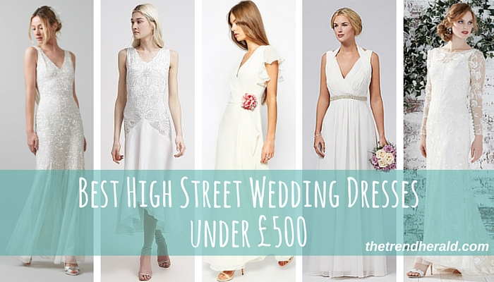 Best High Street Wedding Dresses 2016